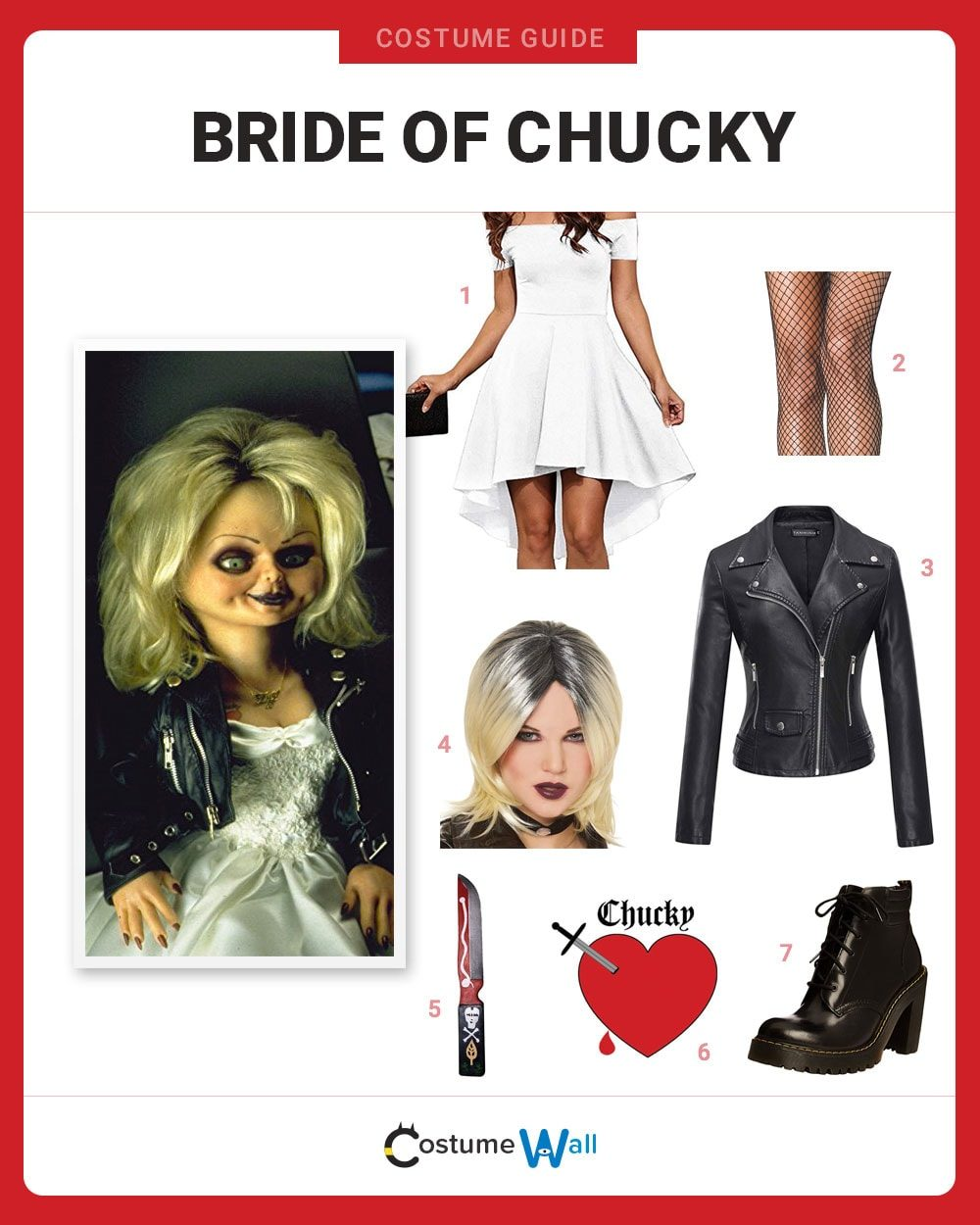 Bride of Chucky Costume Guide