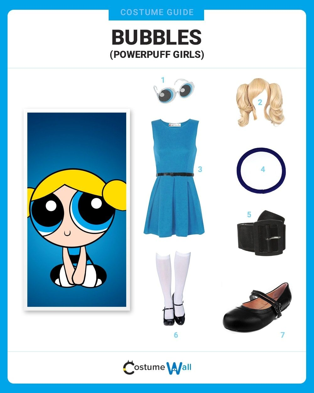 bubbles costume guide