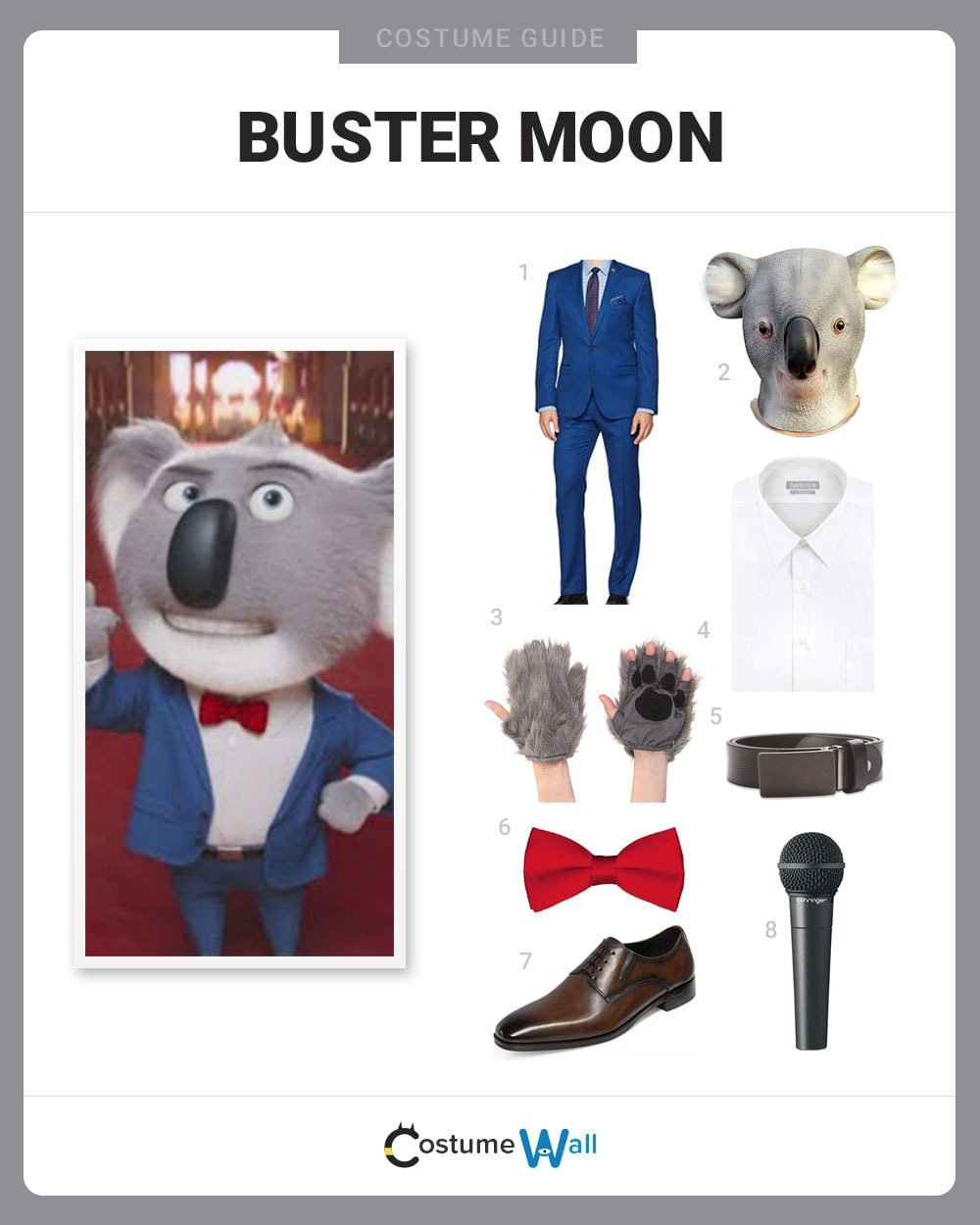 Buster Moon Costume Guide