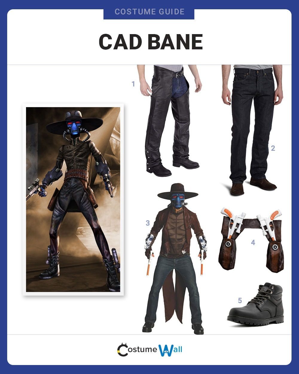 Cad Bane Costume Guide