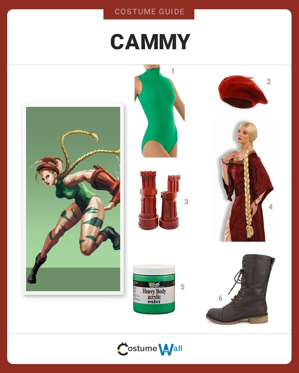 Cammy Costume Guide