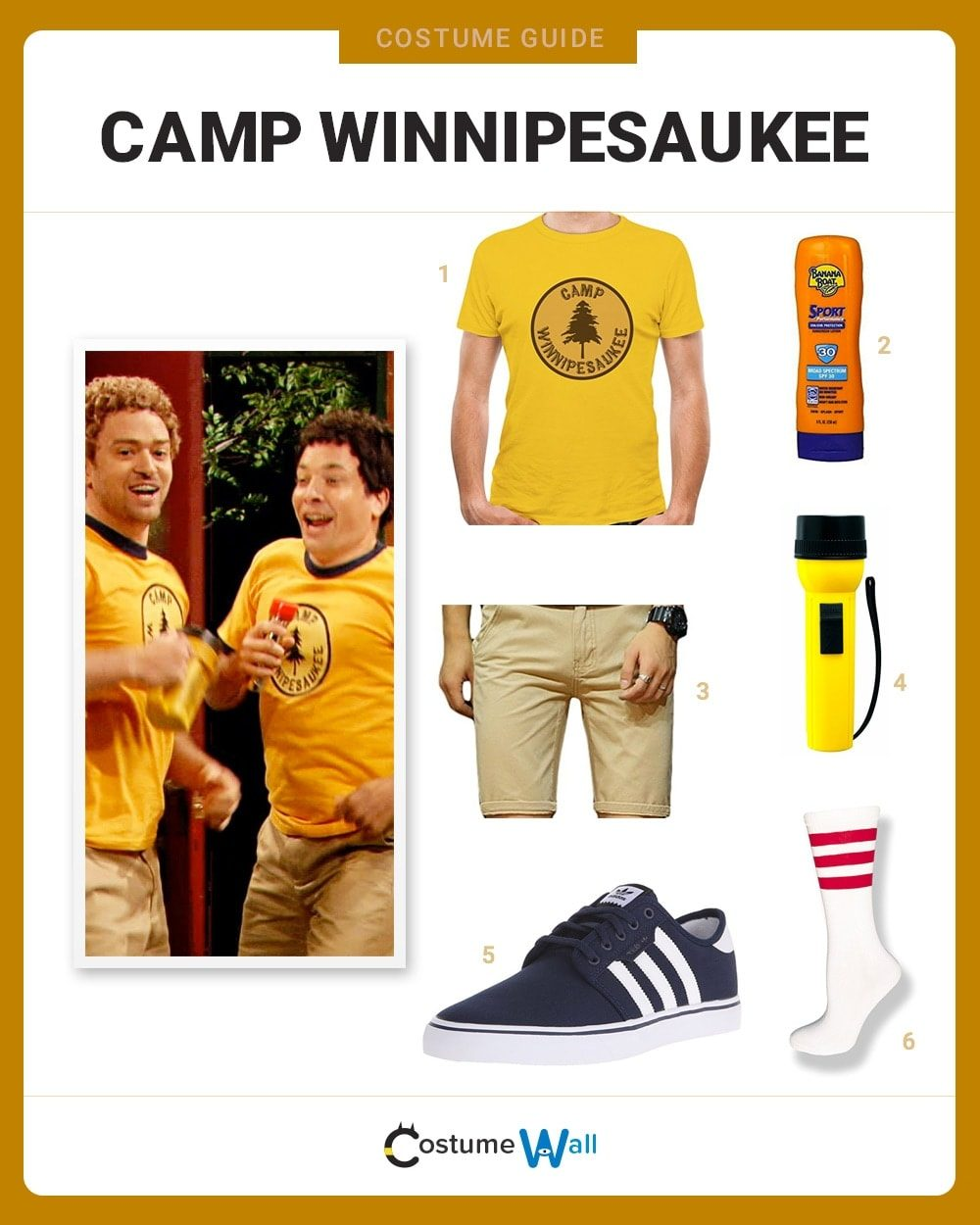 Camp Winnipesaukee Costume Guide