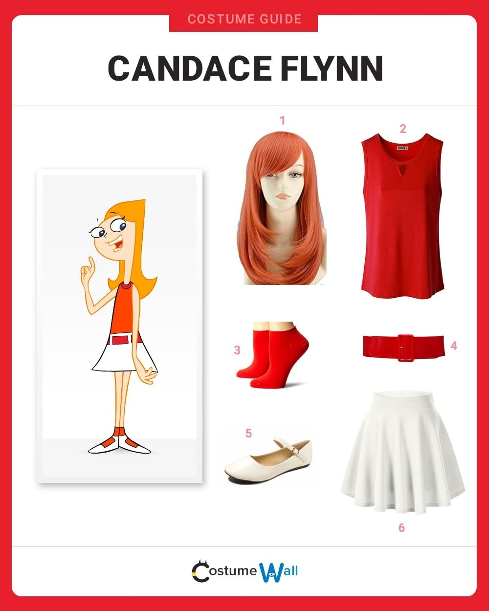 Candace Flynn Costume Guide