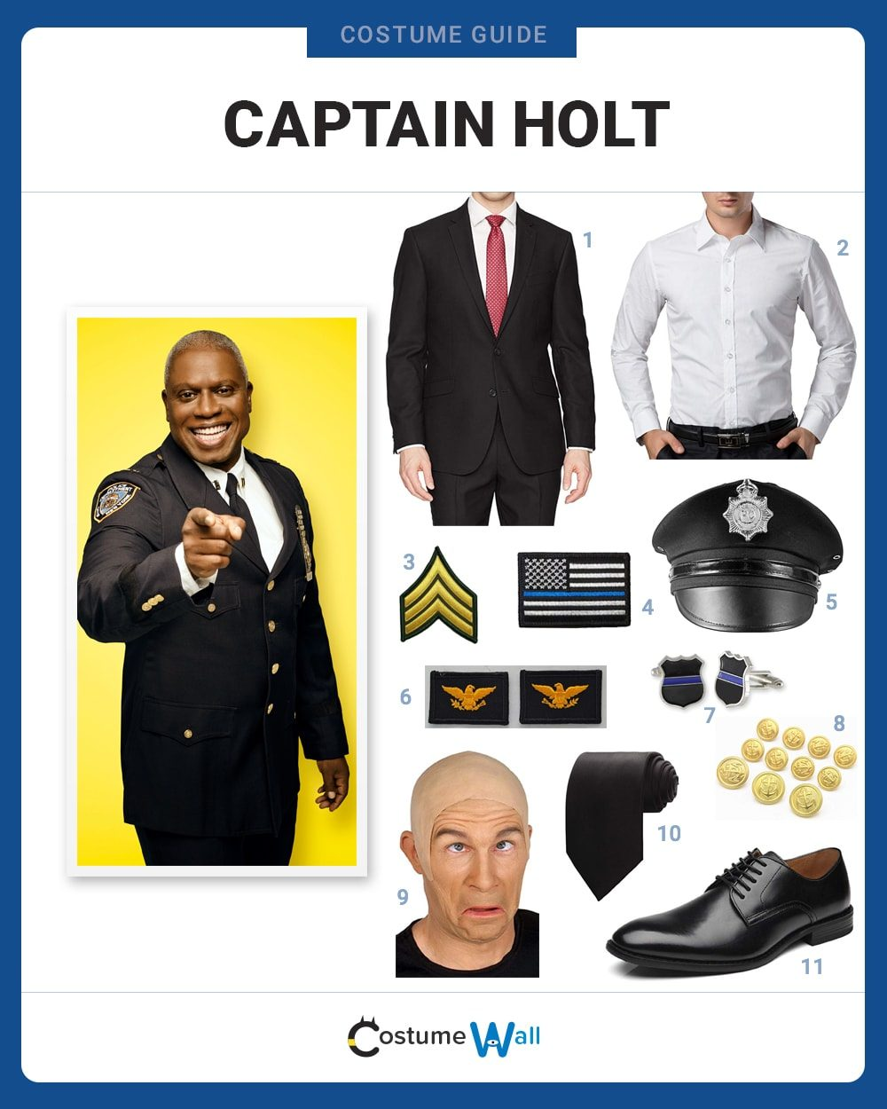 Captain Holt Costume Guide