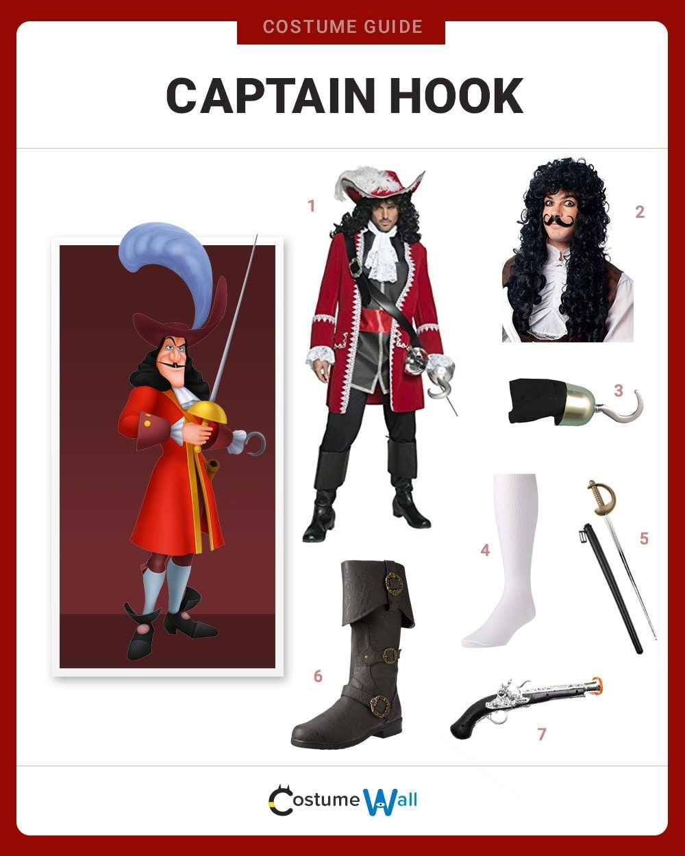 Captain Hook Costume Guide