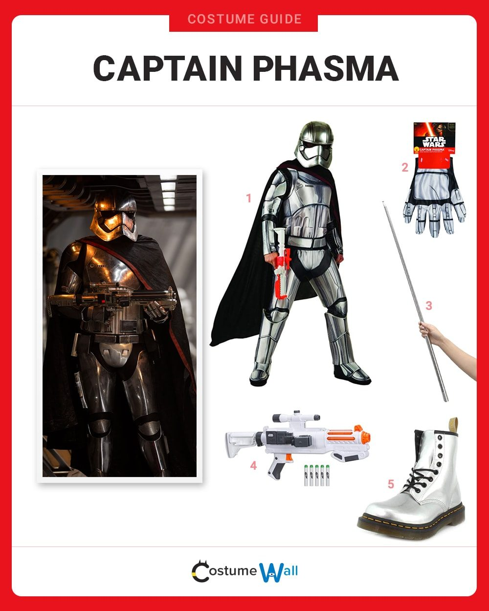 Captain Phasma Costume Guide