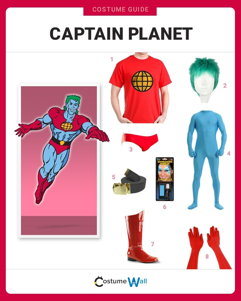Captain Planet Costume Guide