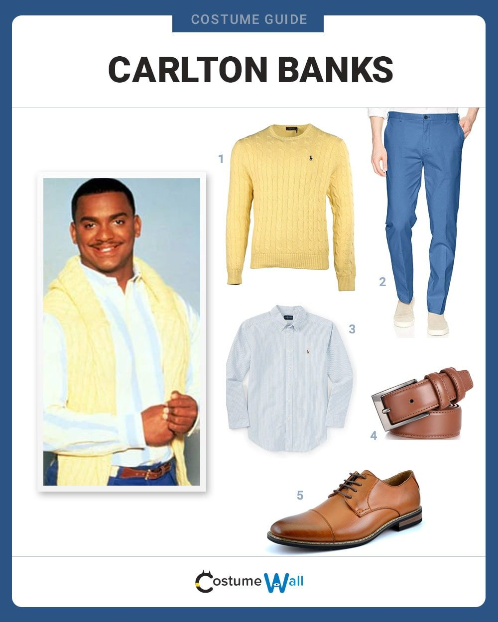 Carlton Banks Costume Guide