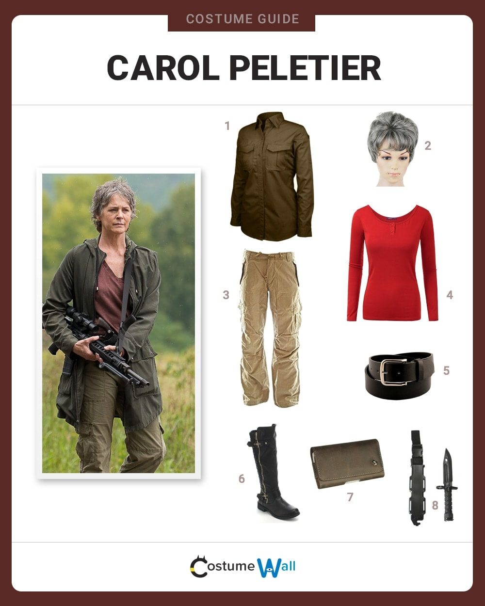 Carol Peletier Costume Guide