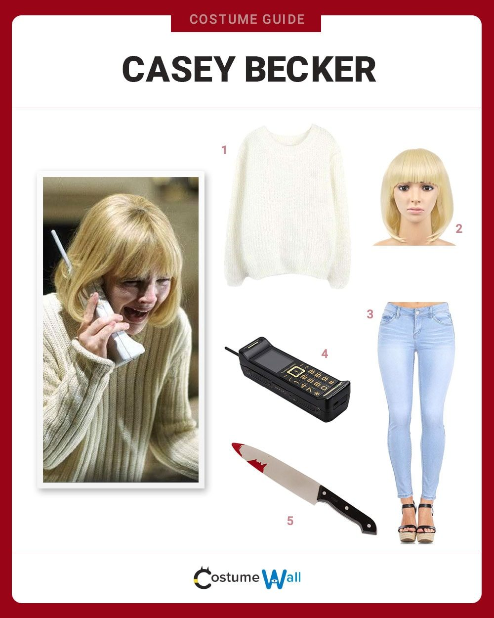 Casey Becker Costume Guide