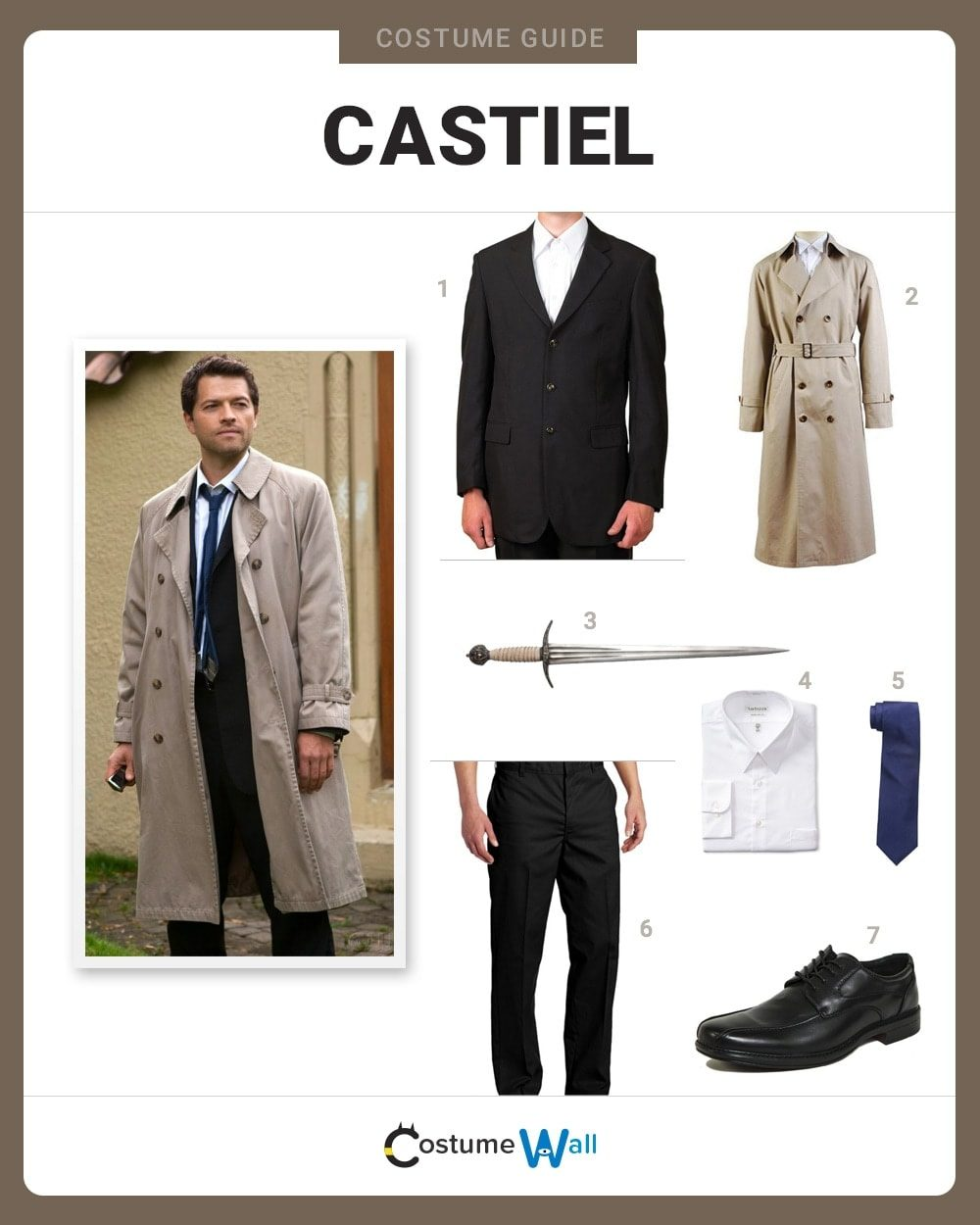 castiel costume halloween and cosplay guides