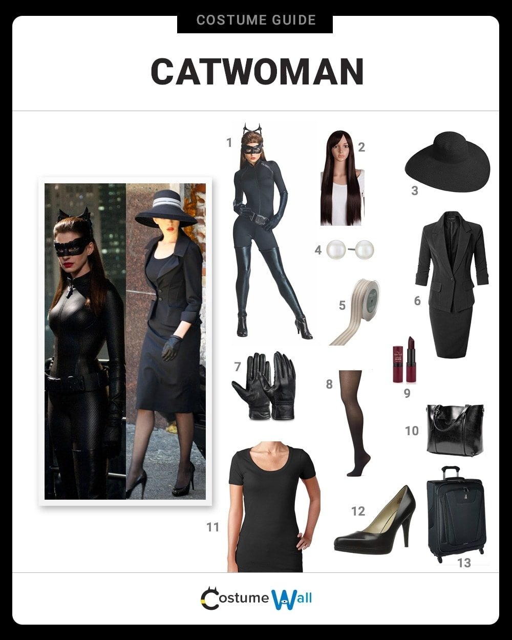 Catwoman Costume Guide