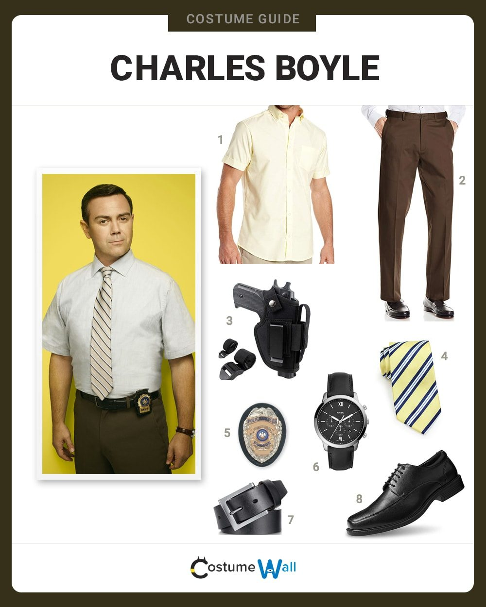 Charles Boyle  Costume Guide