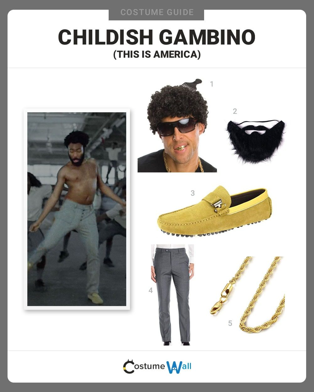 Childish Gambino Costume Guide