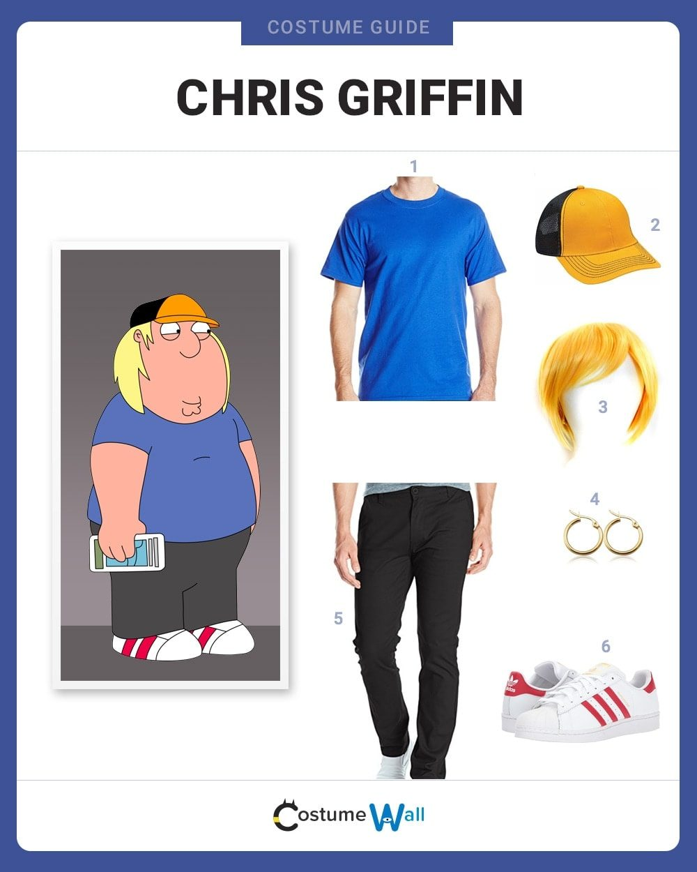 Chris Griffin Costume Guide