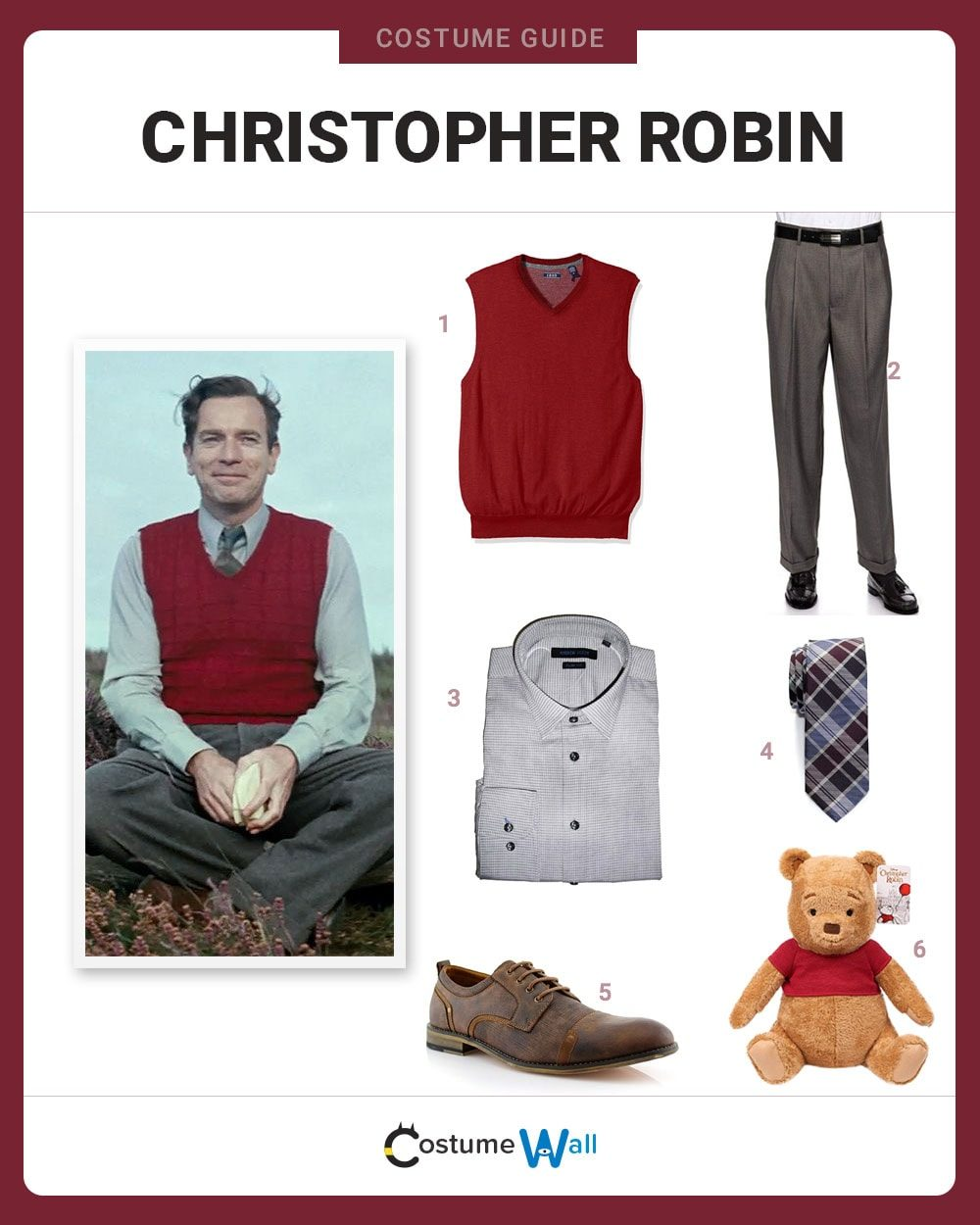 Christopher Robin Costume Guide
