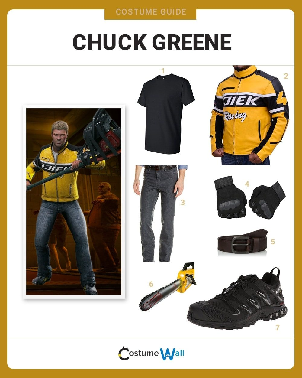 Chuck Greene Costume Guide