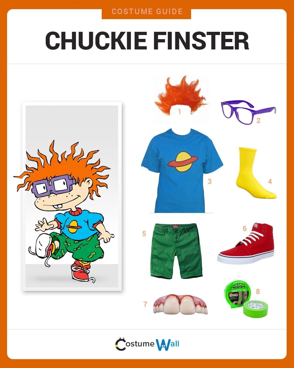 chuckie finster costume guide