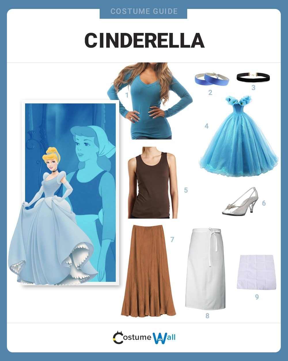 Cinderella Costume Guide