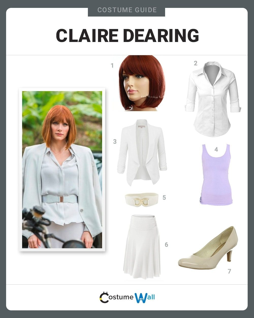 Claire Dearing Costume Guide