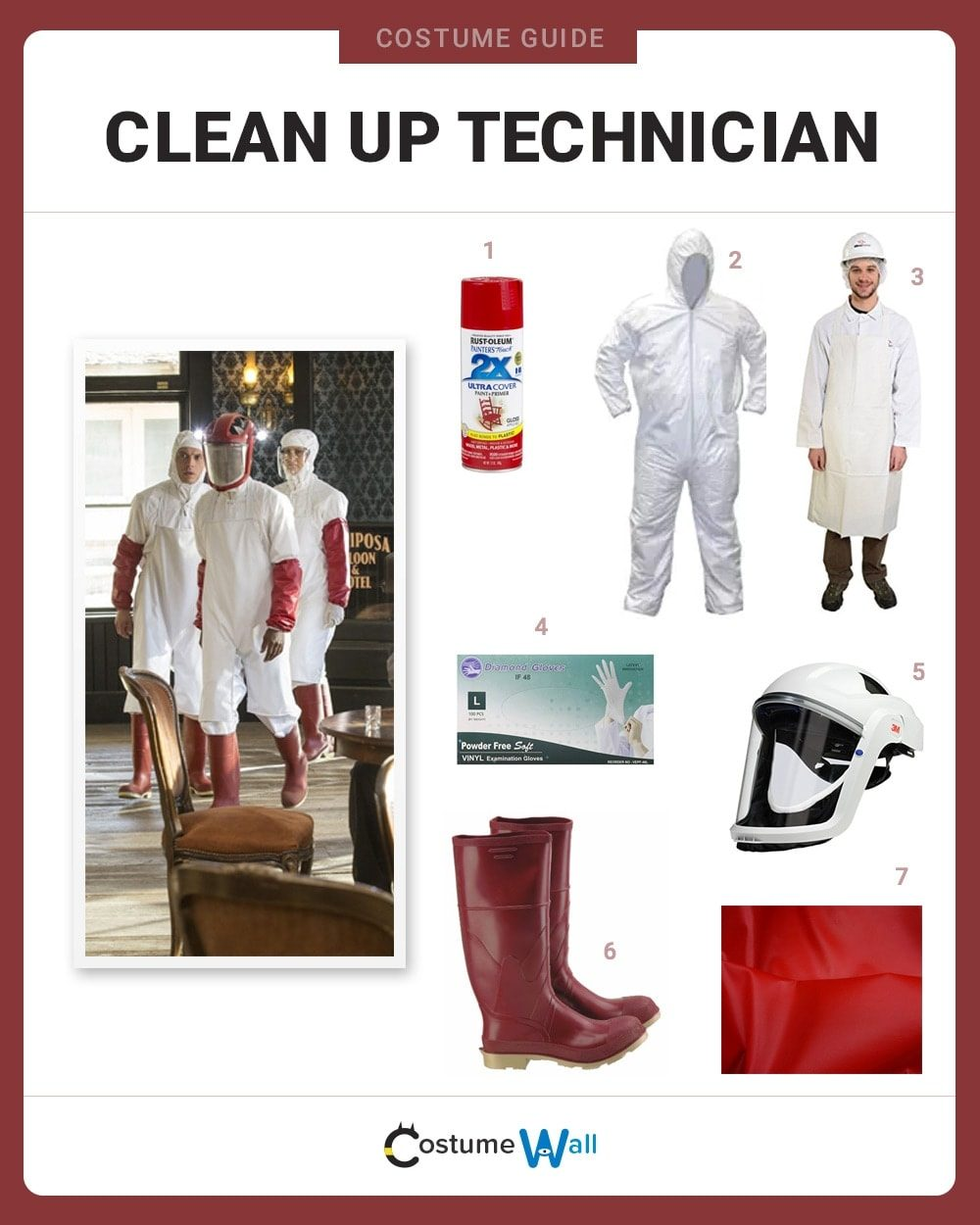 Clean Up Technician Costume Guide