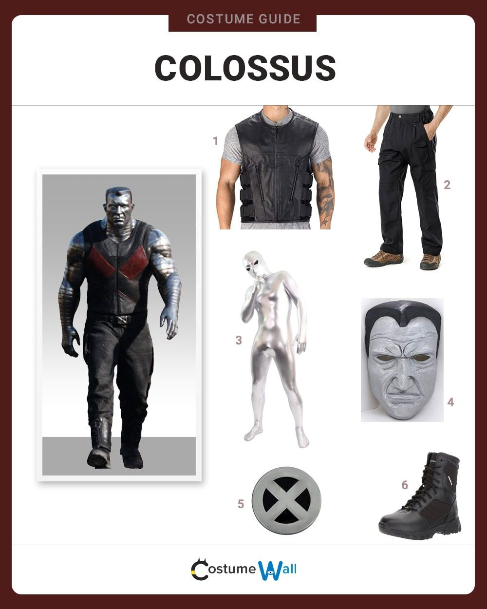 Colossus Costume Guide