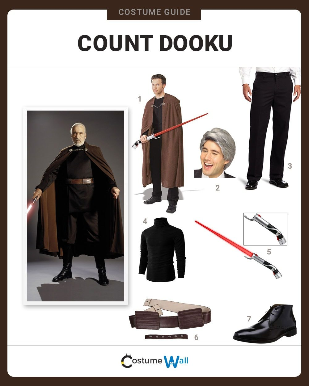 Count Dooku Costume Guide