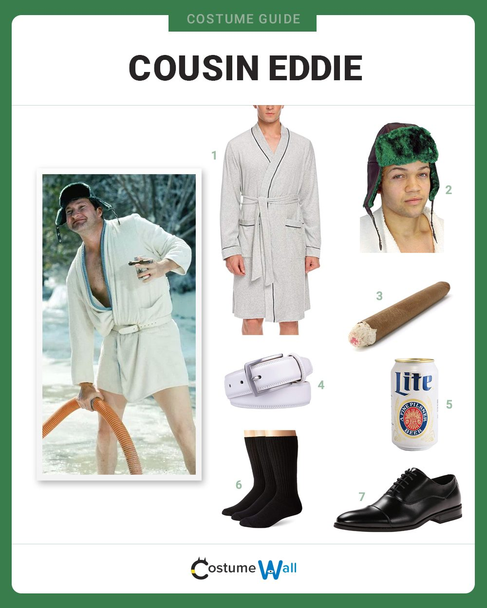 Cousin Eddie  Costume Guide