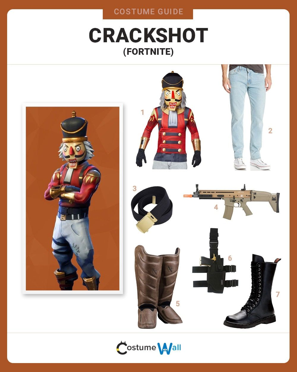 Crackshot Costume Guide