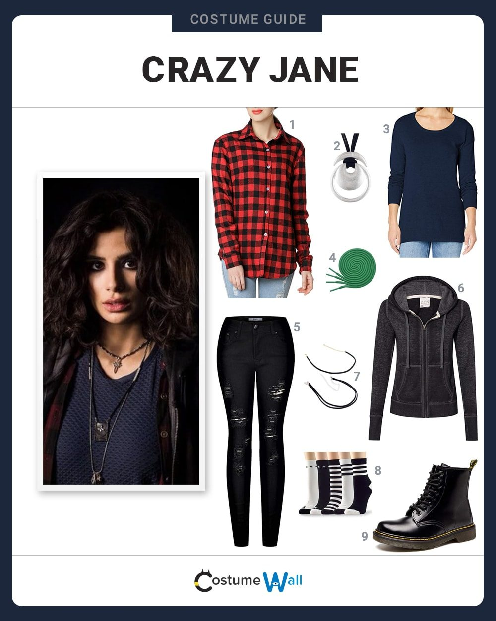 Crazy Jane Costume Guide