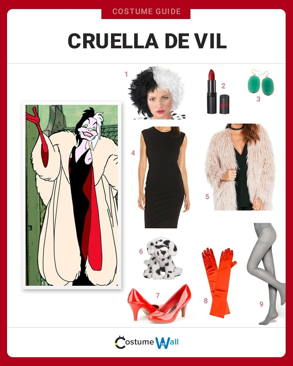 dress like cruella de vil costume halloween and cosplay guides