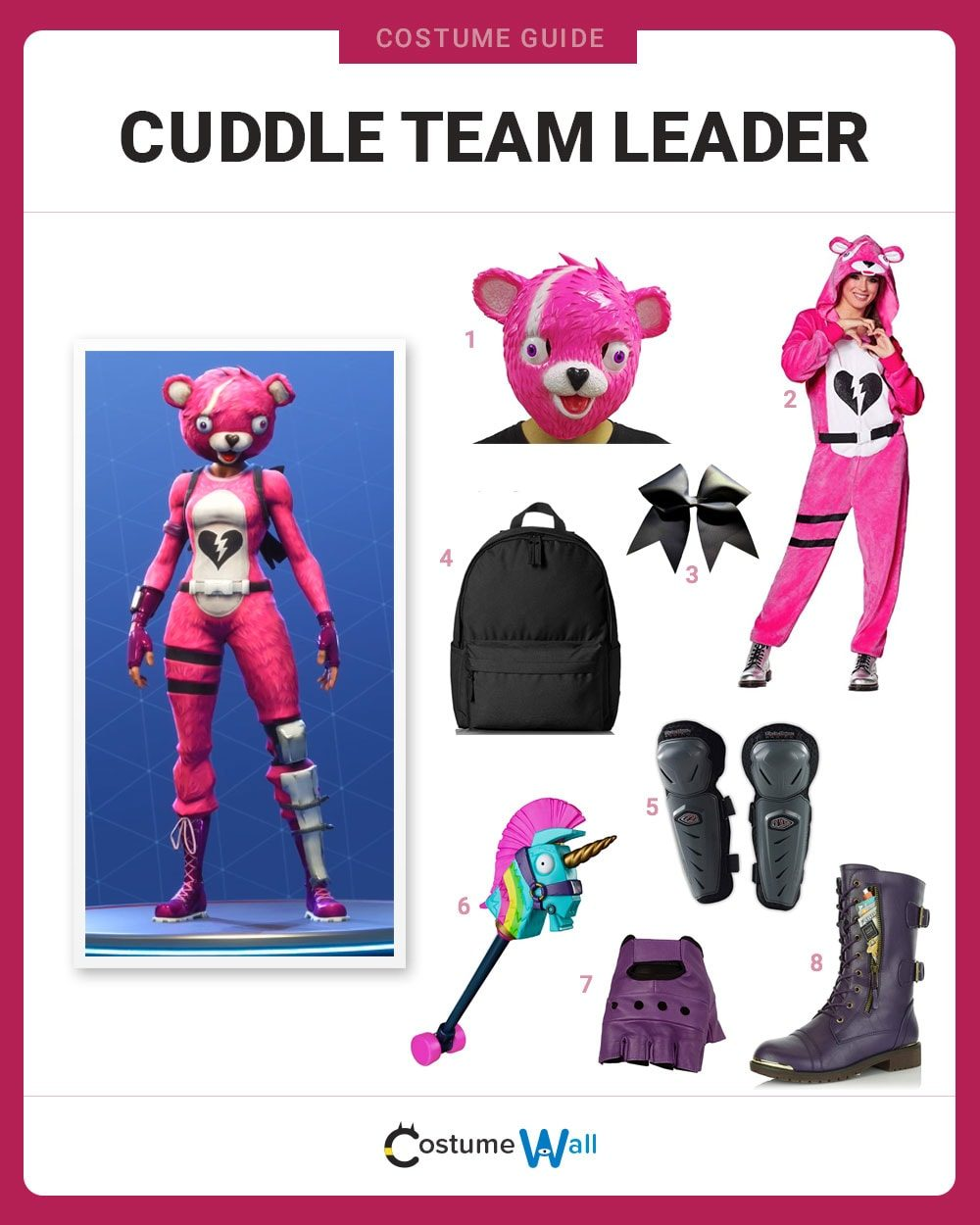 Cuddle Team Leader Costume Guide