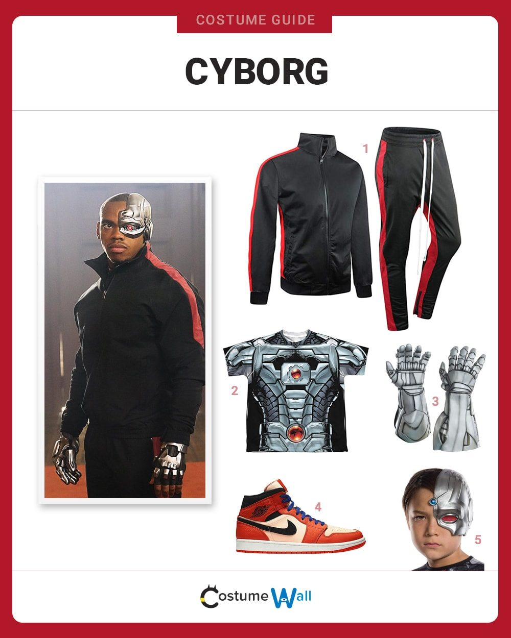 Cyborg Costume Guide