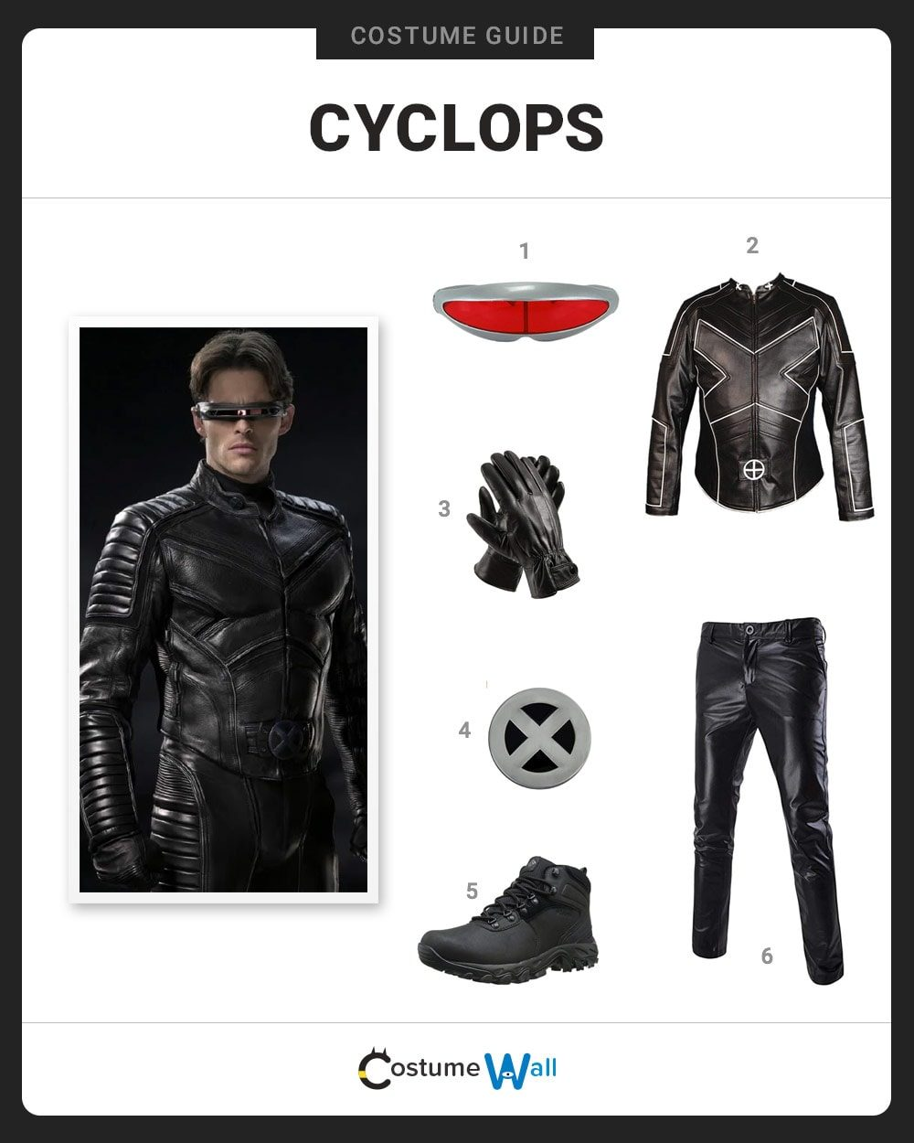Cyclops Costume Guide