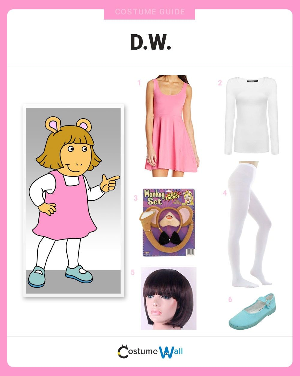 Dress Like D.W. Costume