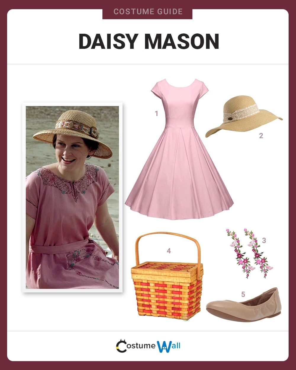 Daisy Mason Costume Guide