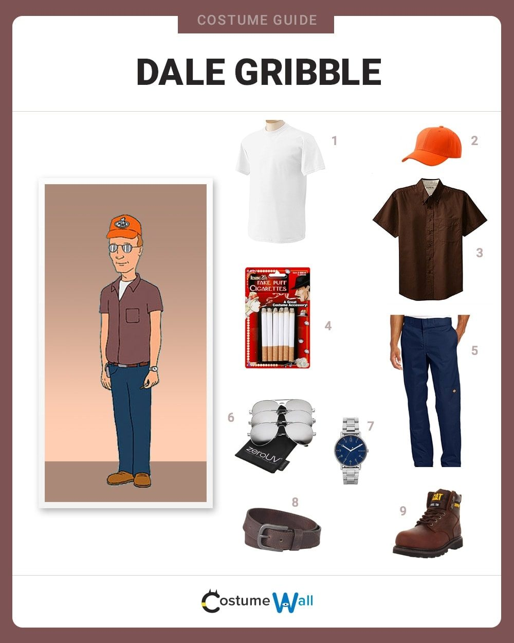 Dale Gribble Costume Guide
