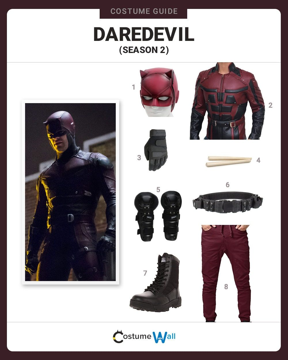 Daredevil (Season 2) Costume Guide