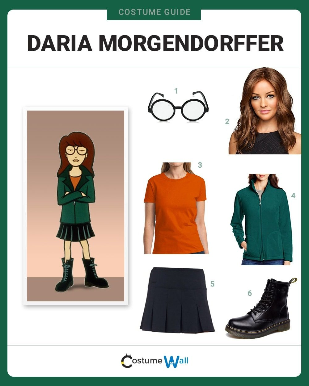 Daria Morgendorffer Costume Guide