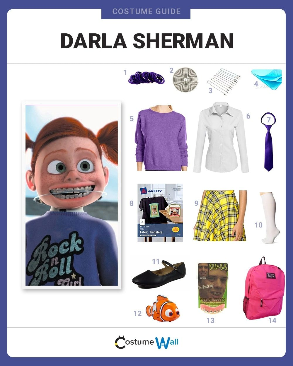 Darla Sherman Costume Guide