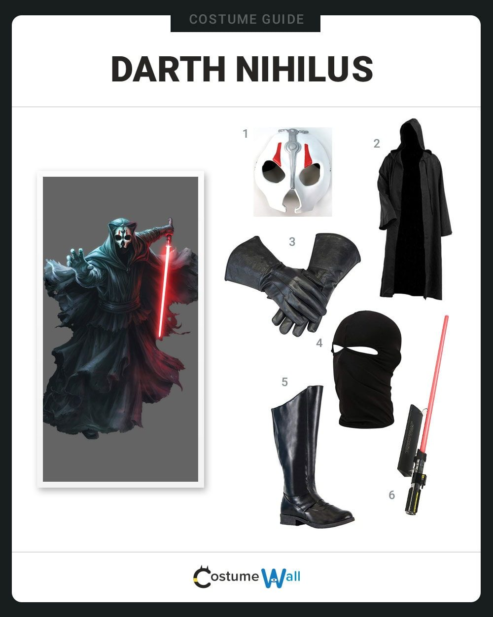 Darth Nihilus Costume Guide