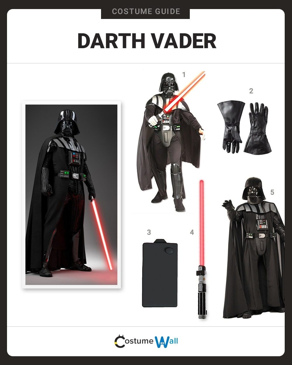 Darth Vader Costume Guide