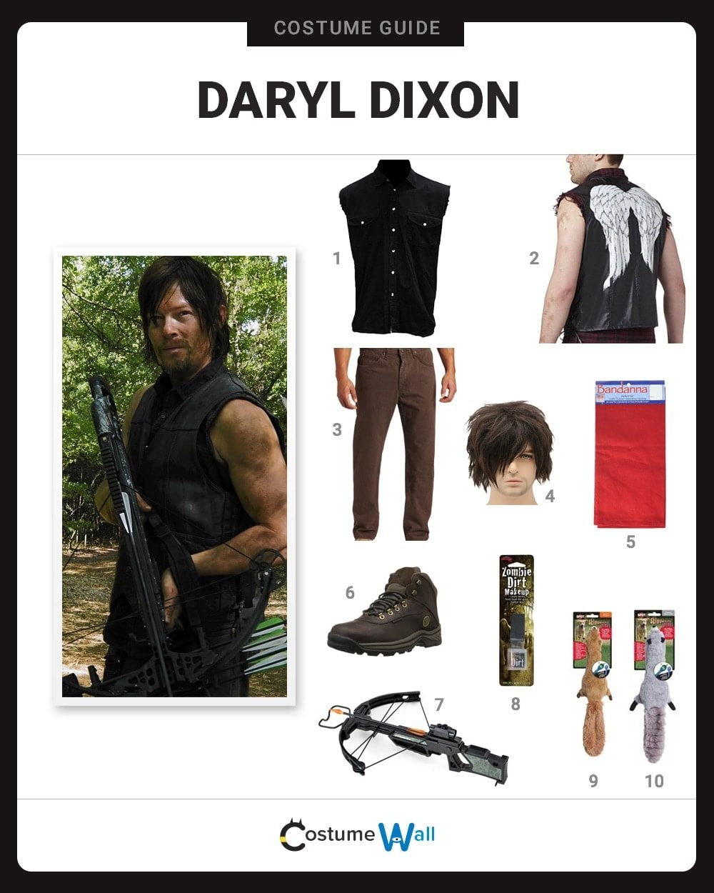 Daryl Dixon Costume Guide