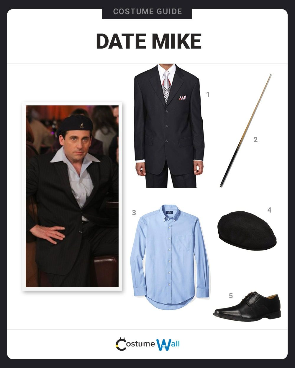 Date Mike Costume Guide
