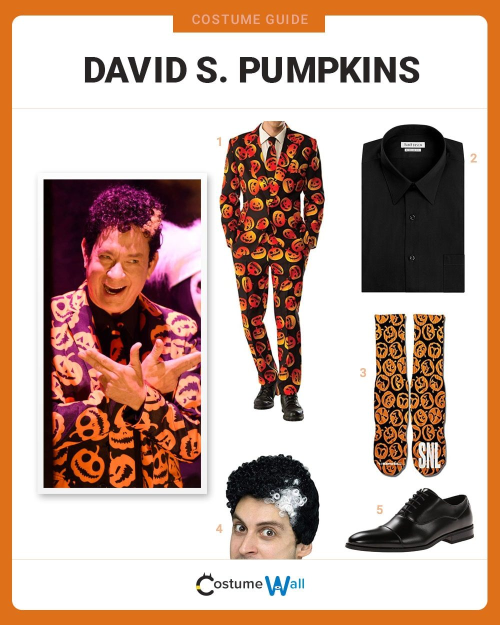 David S. Pumpkins Costume Guide