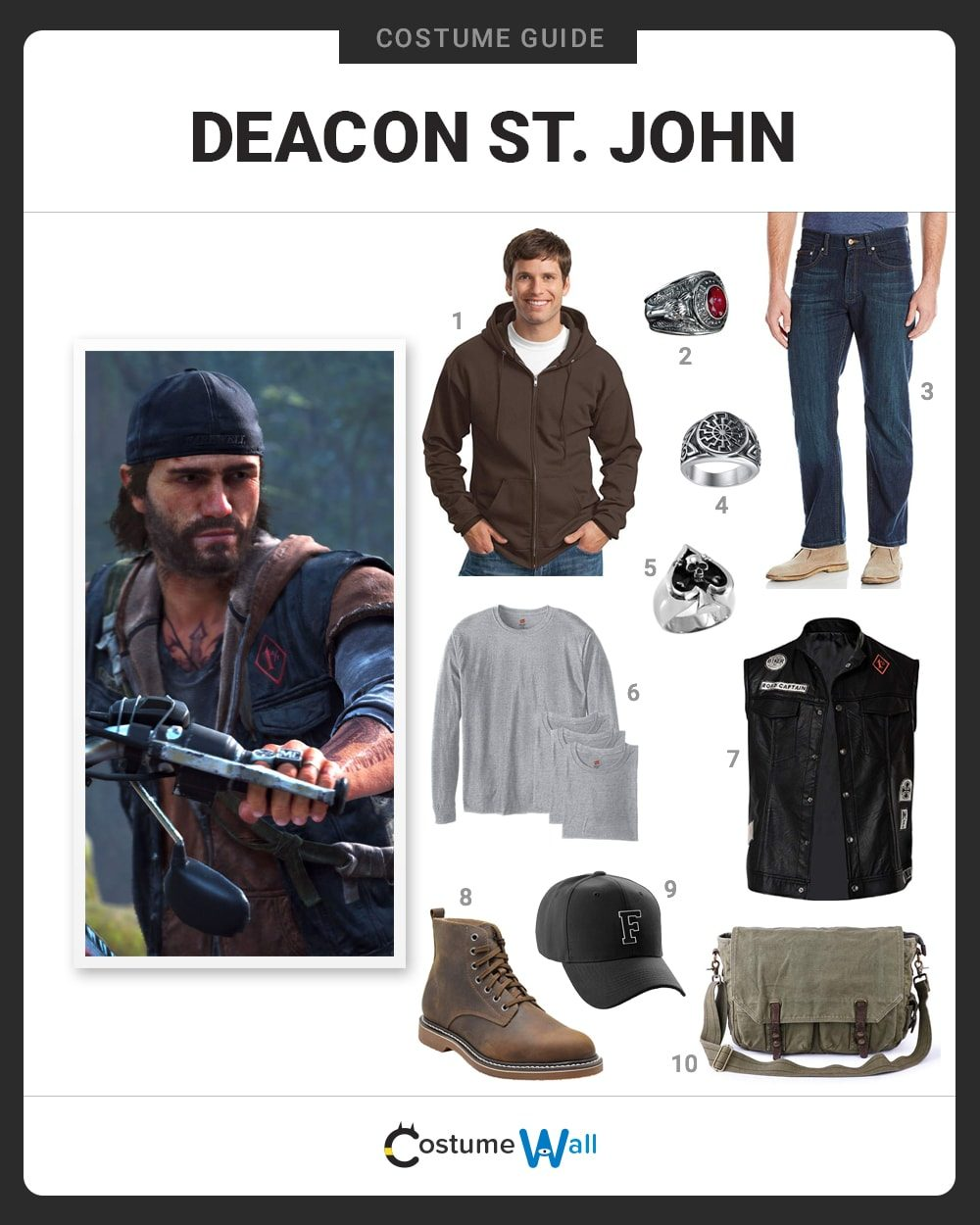 Deacon St. John Costume Guide