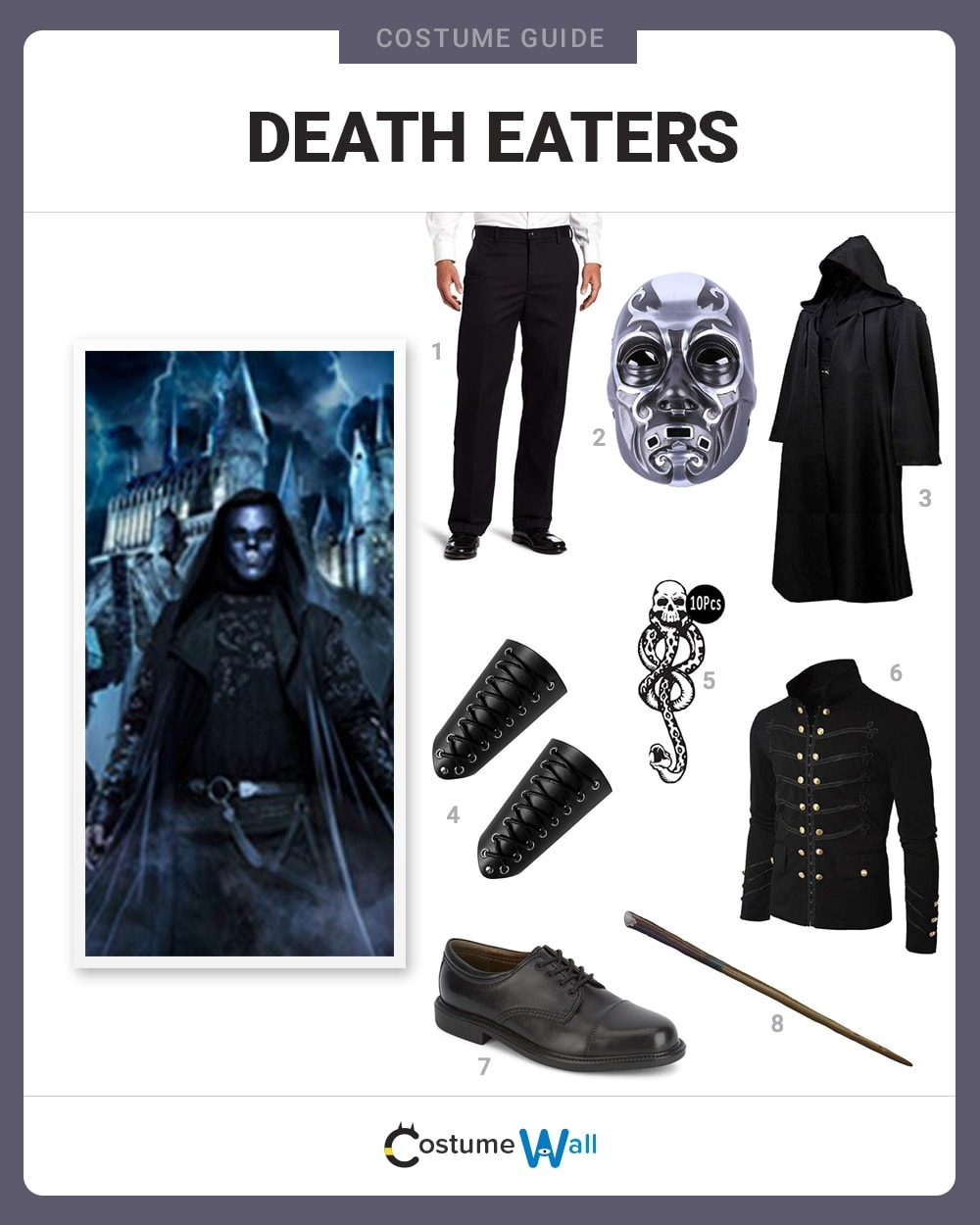 Death Eaters Costume Guide