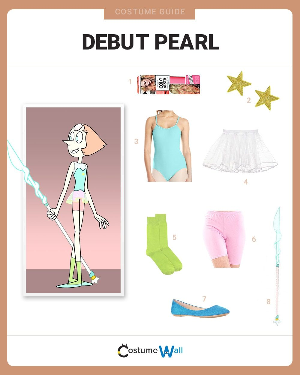 Debut Pearl Costume Guide
