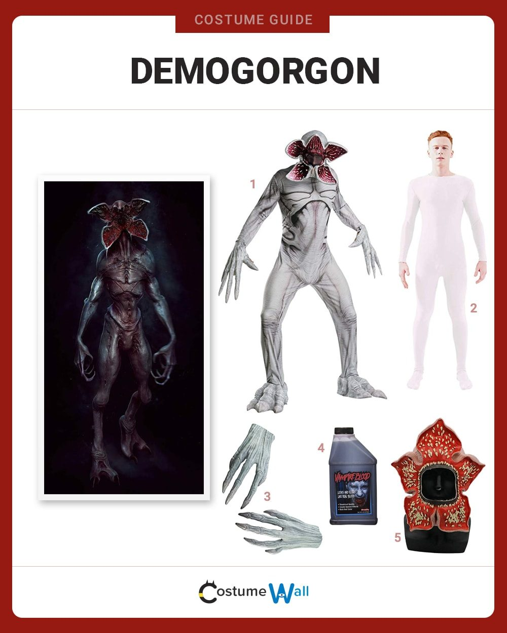 Demogorgon Costume Guide