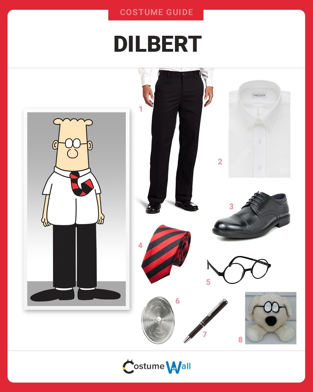 Dilbert Costume Guide